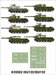 Montex ISU-122, ISU-152 Zwierboj Part I 1:35
