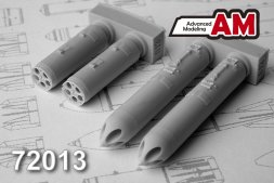 Advanced modeling B-13L 122mm rocket launcher 1:72