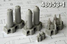 Advance Modeling OFAB-250ShN Fragmentation bomb 1:48