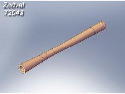 PKT 7.62mm MG gun barrel 1:72
