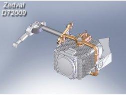 TSHU-1-7 Shtora-1 Active Defense System 1:72