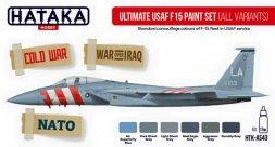 Hataka Hobby USAF F-15 paint set