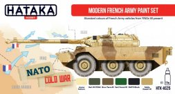 Hataka Hobby French Modern Army paint set
