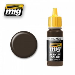 AMMO of MiG - 020 6K Russian brown - 17ml