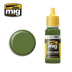 AMMO of MiG - 023 Russian protective green - 17ml