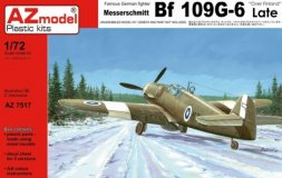 Messerschmitt Bf 109G-6 late - over Finland 1:72