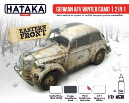 Hataka Hobby German AFV Winter Camo