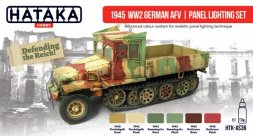Hataka Hobby German AFV | panel lighting set 1945 WW2