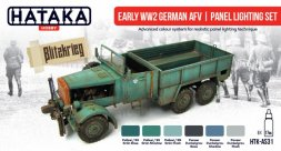 Hataka Hobby German Early AFV WW - panel lighting set