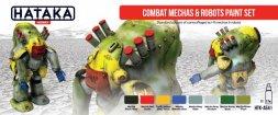 Hataka Hobby Combat Mechas & Robots paint set