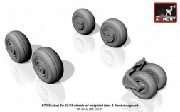 Armory Su-32/ Su-34 wheels w/ weighted tires 1:72