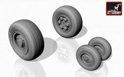 Panavia Tornado wheels, version a Dunlop 1:72
