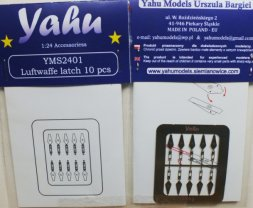 Yahu Luftwaffe latch 10 pcs 1:34