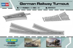 Hobby Boss German Railway Turnout 1:72