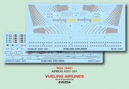 Airbus A321 - Vueling Airlines 1:144