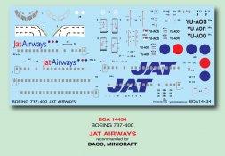 BOA Boeing 737-400 - JAT Airways 1:144