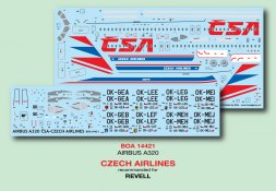Airbus A320 - Czech Airlines 1:144