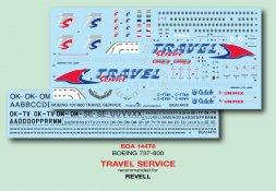 BOA Boeing 737-300 - Travel Service 1:144