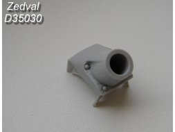 Zedval T-55 Armor mask trunk without dust cover 1:35