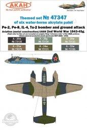 AKAN USSR Air Force WW II - Bomber 1943-1945