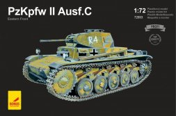 Attack Hobby kits Pz.Kpfw II Ausf.C - Eastern Front 1:72