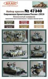 AKAN BMPT Terminator - splintered camouflage opt.1