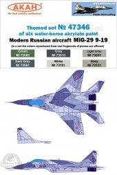 Russian Modern Air Force - MiG-29SMT - Set 2