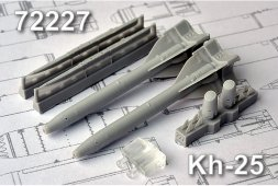 Advanced modeling Kh-25 1:72