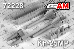 Advanced modeling Kh-25MP/ AS-12 Kegle (1VP) 1:72