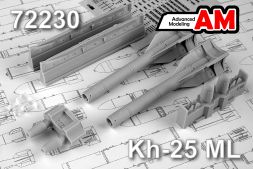 Advanced modeling Kh-25ML/ AS-10 Karen 1:72