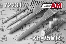 Advanced modeling Kh-25MR 1:72