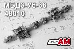 Advance Modeling MBD3-U6-68 Multiple bomb racks 1:48