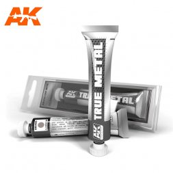 AK Interactive True Metal - Aluminium