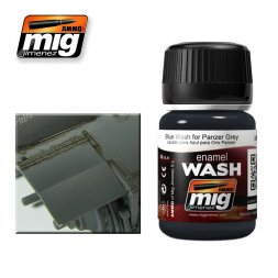 AMMO of MiG - Blue wash for Panzer Grey 35ml