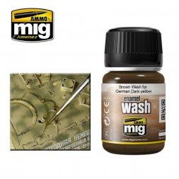 AMMO of MiG - Dark Wash for German Dark Yellow