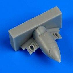A6M Zero type 21/32 exhaust for Tamiya 1:72