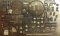 NH Detail Bristol 175 Britannia Detail set for Roden 1:144