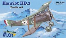Valom Hanriot HS.I - Double set 1:144