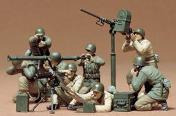 Tamiya U.S. Gun and Mortar team set 1:35