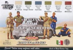 Lifecolor Italian WWII Regio Esercito Uniforms