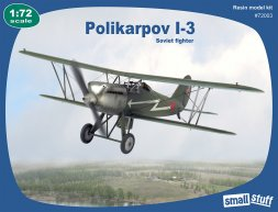 Small Stuff Polikarpov I-3 - Soviet fighter 1:72
