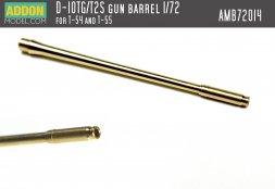 Addon model - T-54, T-55 gun barrel (D-10TG/T2S) 1:72