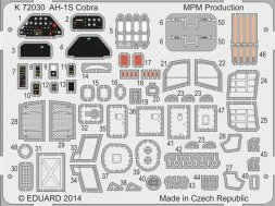 Special Hobby AH-1Q/S Cobra Coloured photo-etched parts 1:72