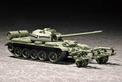 Trumpeter T-54 with KMT-5 1:72