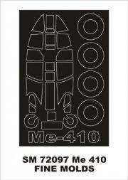 Montex Me 410 mini mask for Fine Molds 1:72