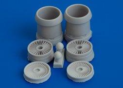 AMIGO VVA-14 turbojet angine D-30 for Modelsvit 1:72