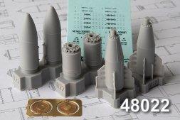 Advance Modeling BETAB-500ShP Concrete piercing bomb 1:48