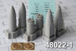 Advance Modeling BETAB-500ShP (late) Concrete piercing bomb 1:48