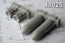 Advance Modeling RBK-500PTAB-1 500 kg Cluster Bomb 1:48