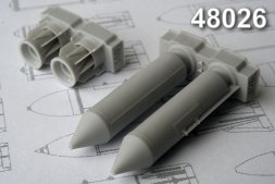 Advance Modeling RBK-500BETAB, 500 kg Cluster Bomb 1:48
